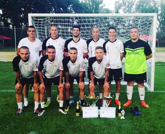 Víťazi turnaja Agrostaar Cup v Kráľovom Brode.