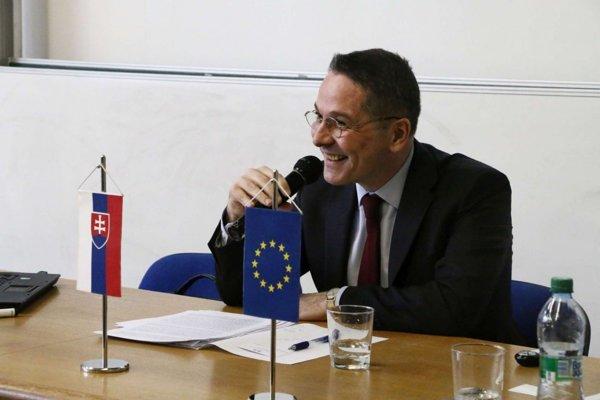 Christophe Léonzi, veľvyslanec Francúzska na Slovensku.