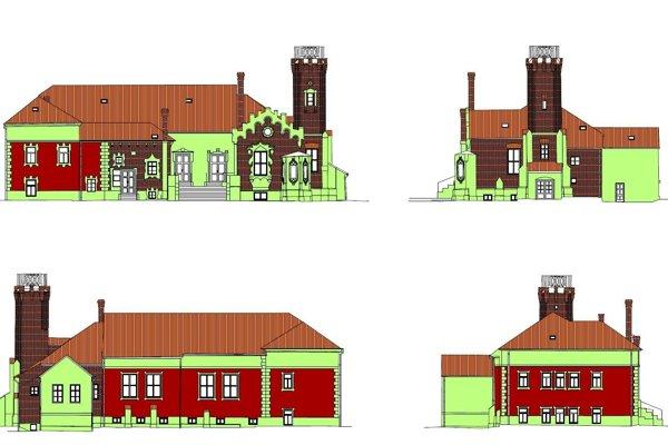 Vizualizácia múzea v Senici