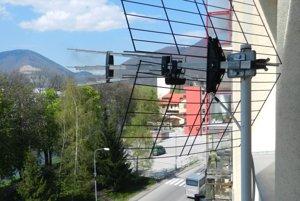 Prijímacie televízne antény pre DVB-T/T2.