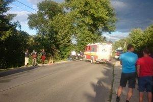 Vodička mala šťastie, nehoda skončila bez zranení.