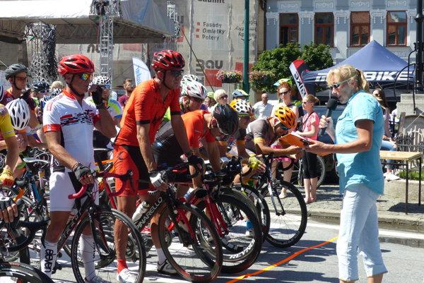Na štarte Tour de Prešov.