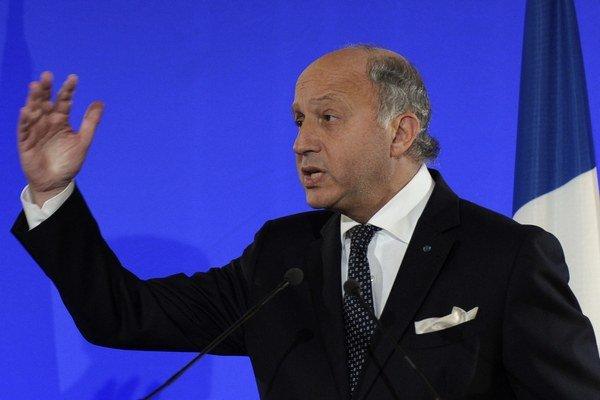 Francúzsky minister zahraničných vecí Laurent Fabius.
