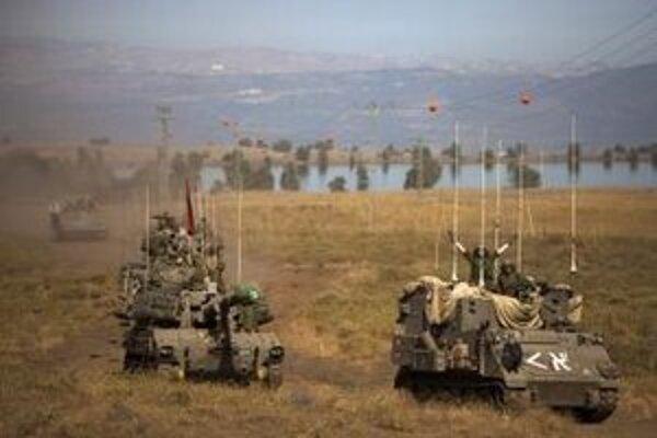 Tanky izraelskej armády