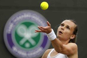Magdaléna Rybáriková hrá životný  Wimbledon.