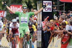 Marcel Kittel je najrýchlejším cyklistom na Tour de France 2017.