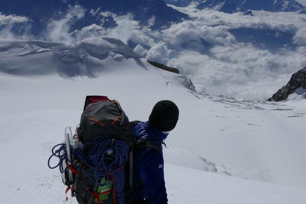Slovenský horolezec Peter Hámor a osemtisícovka Annapurna.