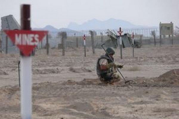 Odmínovanie v Afganistane.