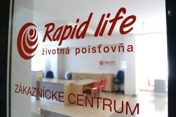 Sídlo Rapid life v Košiciach.
