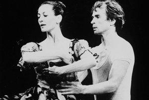 Rudolf Nurejev, legenda ruského baletu.