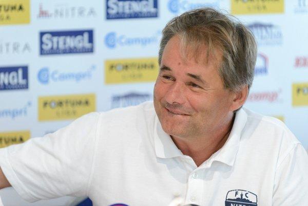 Ivan Galád, tréner FC Nitra.