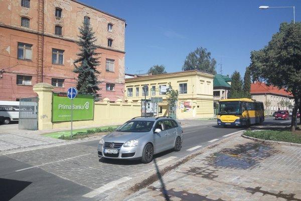 Obnovená Šrobárova ulica.
