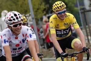 Chris Froome (vpravo) vyhral Tour de France, hoci nebol taký silný ako v minulosti. Naopak, Warren Barguil (vľavo) svojimi výkonmi v horách prekvapil.