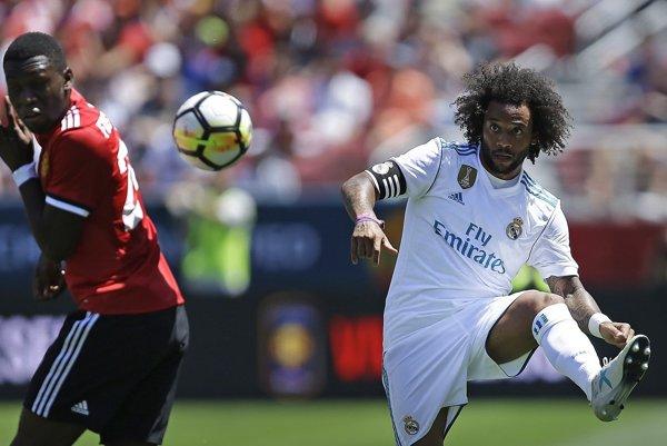 Hráči Realu Madrid prehrali s Manchestrom United.