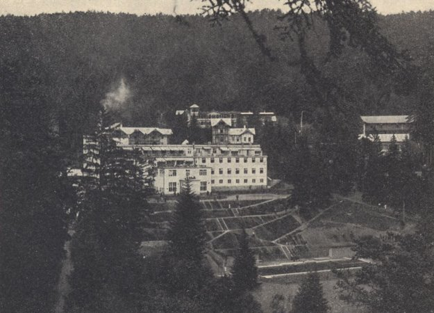 Kúpele Štós v roku 1935.