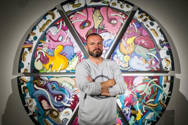 Erik Šille (1978) pochádza z Rožňavy, študoval na VŠVU v Bratislave, kde bol aj doktorandom. Vyhral Cenu VÚB Maľba, Cenu Nadácie Tatra banky. Jeho diela sú v zbierkach SNG, či Európskeho parlamentu.