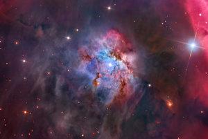 Nebula NGC 2023 v súhvezdí Orion.