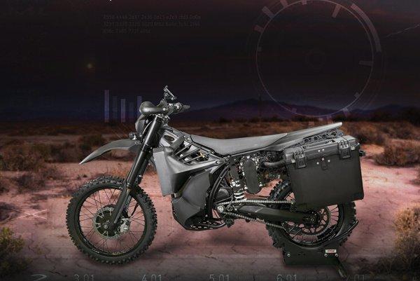 Protyp motocyklu SilentHawk.