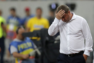 Tréner Plzne Pavel Vrba sa chytal za hlavu.