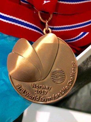Bronzové medaily sa členkám tanečnej skupiny aj tak páčili najviac.