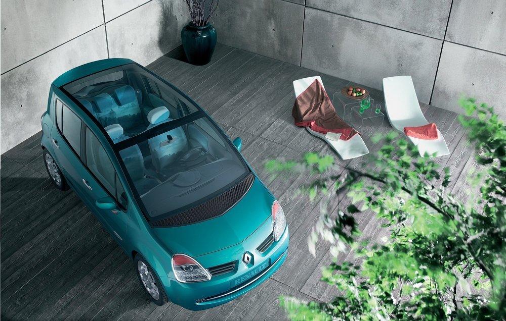 Renault Modus ešte ako koncept z roku 2004.