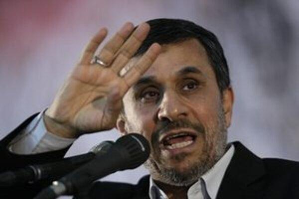 Iránsky prezident Ahmedinedžád.