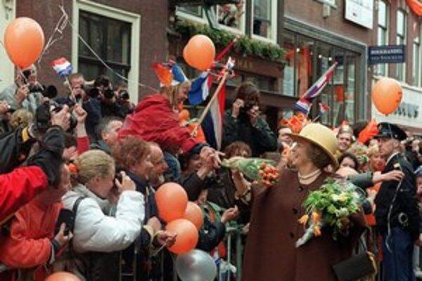 Kráľovná Beatrix sa medzi Holanďanmi tešila veľkej obľube.