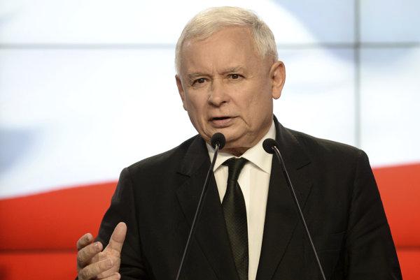 Predseda strany Právo a spravodlivosť Jaroslaw Kaczyński.