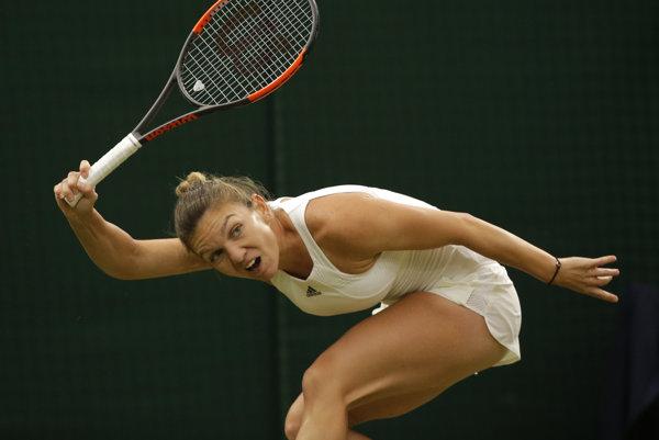 Simona Halepová zápas nedohrala.