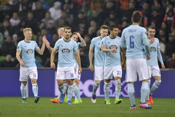 Futbalisti Celty Vigo - ilustračná fotografia.