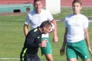 Autor víťazného gólu v zápase 2. kola 2. ligy AFC Nové Mesto -  MFK Skalica Roman Haša.