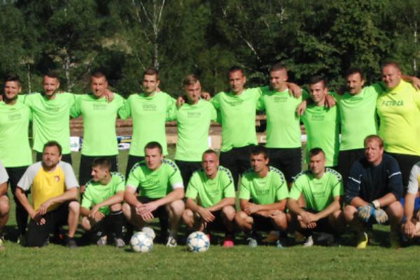 Víťazné družstvo domáceho Brodna.