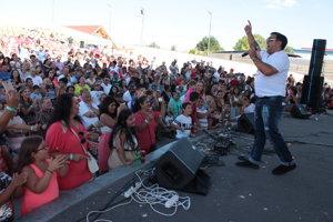 Rómsky festival v Holíči