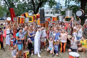 S Campanou Batucadou si môžete zabubnovať túto nedeľu v parku.