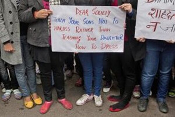 Ženy v Indii volajú po zmene.