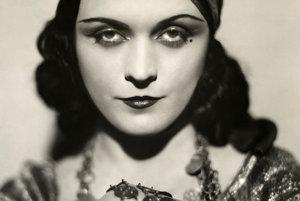 Slávna herečka Pola Negri.