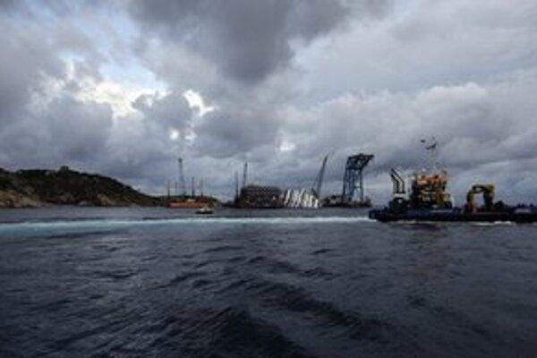 Vrak plavidla sa stále nachádza na pobreží ostrova v Tyrhenskom mori.
