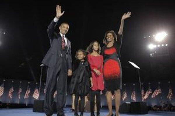 Rodina Baracka Obamu.