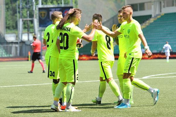 Žilina dala opäť sedem gólov.