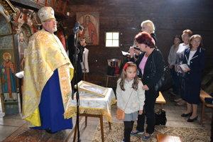 Peter Humeník. Dekan a správca Pravoslávnej cirkevnej obce v Humennom privítal Klenovčanov v chráme.