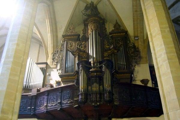 Organ v konkatedrále sv. Mikuláša v Prešove.