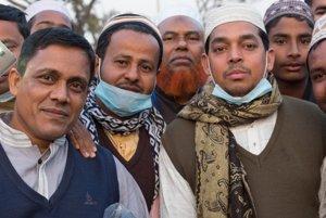 Ľudia v Bangladéši boli priateľskí a pokojne sa nechali fotiť.
