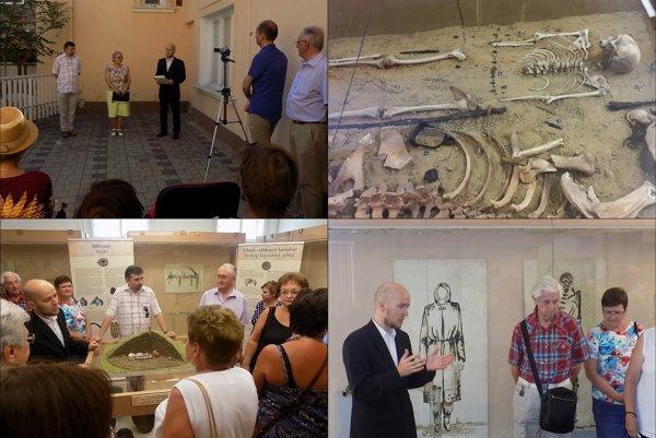 Múzeum Jána Thaina v Nových Zámkoch sprístupnilo putovnú archeologickú výstavu.