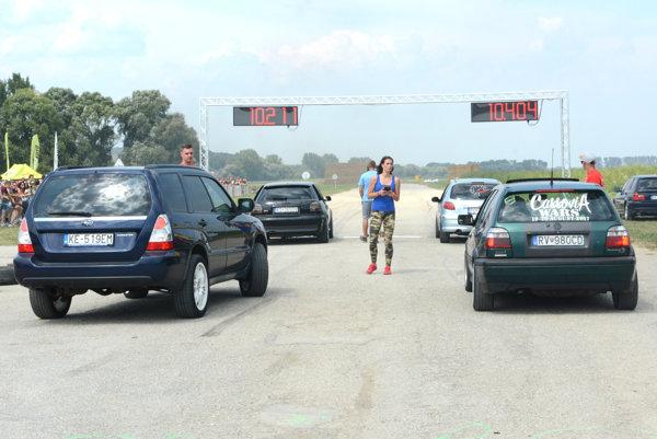 Šprintérske súťaže. Dôležitý bol včasný odpich arýchla jazda.