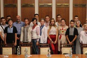 Stredoškoláci z Ukrajiny na návšteve Prešova.