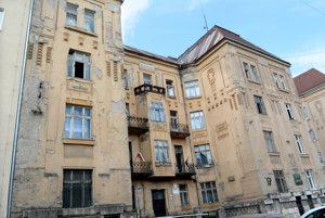 Budova na Štefánikovej 4.