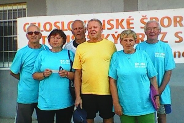 Úspešná výprava seniorov v Trenčíne.