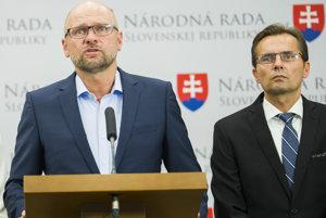 Richard Sulík a Ľubomír Galko.