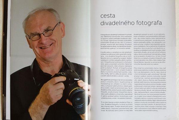 Z obsahu knihy Filip Lašut - pocta divadelnému fotografovi