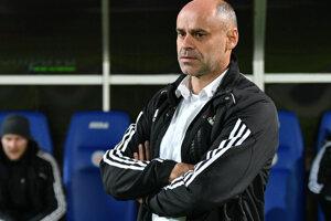 Tréner 1. FC Tatran Prešov Miroslav Jantek.